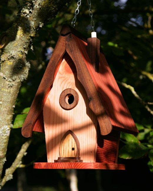 Bird Houses Contemporary Wind In The Willows Handcrafted